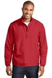 Zephyr 1/2-Zip Pullover Rich Red Thumbnail