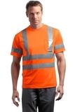 Ansi Class 3 Short Sleeve Snag-resistant Reflective T-shirt Safety Orange Thumbnail