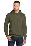 7.8-oz Pullover Hooded Sweatshirt Olive Drab Green Thumbnail