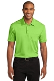 Silk Touch Performance Pocket Polo Lime Thumbnail
