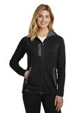 Women's Eddie Bauer Sport Hooded Full-Zip Fleece Jacket Black Thumbnail