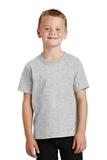 Youth 5.5-oz 100 Cotton T-shirt Ash Thumbnail