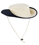 Outback Hat Canvas with Navy Thumbnail