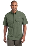 Eddie Bauer Short Sleeve Fishing Shirt Seagrass Green Thumbnail