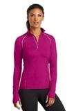 Women's Ogio Endurance Nexus 1/4-zip Pullover Flush Pink Thumbnail