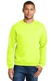Crewneck Sweatshirt Safety Green Thumbnail
