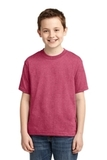 Youth 50/50 Cotton / Poly T-shirt Vintage Heather Red Thumbnail