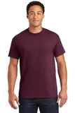 Ultra Blend 50/50 Cotton / Poly T-shirt Maroon Thumbnail