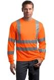 Ansi Class 3 Long Sleeve Snag-resistant Reflective T-shirt Safety Orange Thumbnail