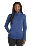 Women's Collective Smooth Fleece Jacket Night Sky Blue Thumbnail