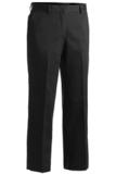 Women's Flat Front Pant Black Thumbnail