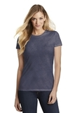 Women's Fitted Perfect Tri Tee Navy Frost Thumbnail