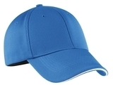 Nike Golf Dri-fit Mesh Swoosh Flex Sandwich Cap Pacific Blue Thumbnail