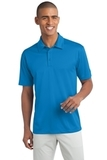 Legendary Sateen Moisture Wicking Polo Brilliant Blue Thumbnail