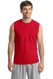 Ultra Cotton Sleeveless T-shirt Red Thumbnail