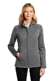 Ladies Stream Soft Shell Jacket Graphite Heather Thumbnail