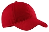 Soft Brushed Canvas Cap Red Thumbnail