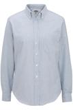 Women's Dress Button Down Oxford LS Blue Stripe Thumbnail