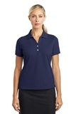 Women's Nike Golf Shirt Dri-fit Classic Midnight Navy Thumbnail