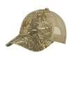 Unstructured Camouflage Mesh Back Cap Realtree Xtra with Tan Thumbnail