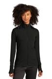 Sport-Tek ® Ladies Sport-Wick ® Flex Fleece Full-Zip Black Thumbnail
