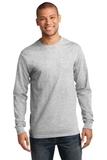 Essential Long Sleeve T-shirt Ash Thumbnail