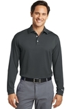 Nike Golf Tall Long Sleeve Dri-FIT Stretch Tech Polo Anthracite Thumbnail