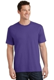 5.5-oz 100 Cotton T-shirt Purple Thumbnail