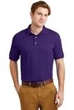 Ultra Blend 5.6-ounce Jersey Knit Sport Shirt Purple Thumbnail