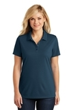 Women's Dry Zone UV MicroMesh Polo River Blue Navy Thumbnail