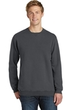 Essential Pigment-Dyed Crew-Neck Sweatshirt Coal Thumbnail