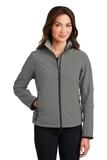 Women's Glacier Soft Shell Jacket Smoke Grey Thumbnail