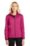 Women's Active Soft Shell Jacket Pink Azalea Thumbnail