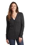 Women's Marled Cardigan Sweater Black Marl Thumbnail