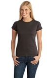 Women's Softstyle Ring Spun Cotton T-shirt Dark Chocolate Thumbnail