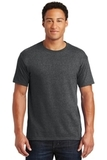 50/50 Cotton / Poly T-shirt Black Heather Thumbnail