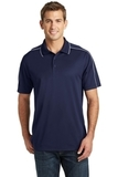 Micropique Sport-wick Piped Polo True Navy with White Thumbnail