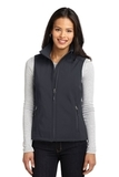 Women's Core Soft Shell Vest Battleship Grey Thumbnail