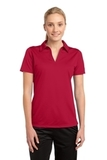 Women's Active Textured Polo True Red Thumbnail