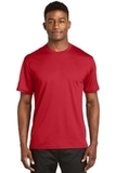 Dri-mesh Short Sleeve T-shirt Red Thumbnail