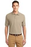 Tall Sized Silk Touch Polo Shirt Stone Thumbnail