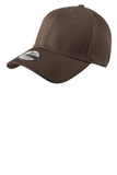 New Era Structured Fitted Cotton Cap Brown Thumbnail