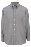 Men's Dress Button Down Oxford LS Black Thumbnail