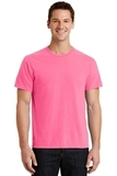 Pigment-dyed Tee Neon Pink Thumbnail