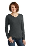 Women's Perfect Tri-Long Sleeve Hoodie Black Frost Thumbnail