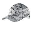 Digital Ripstop Camouflage Cap Grey Camo Thumbnail