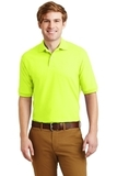 Spotshield 5.6-ounce Jersey Knit Polo Shirt Safety Green Thumbnail