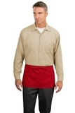 Waist Apron With Pockets Red Thumbnail
