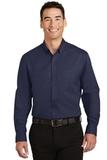 SuperPro Twill Shirt True Navy Thumbnail