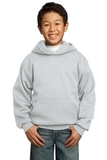 Youth Pullover Hooded Sweatshirt Ash Thumbnail